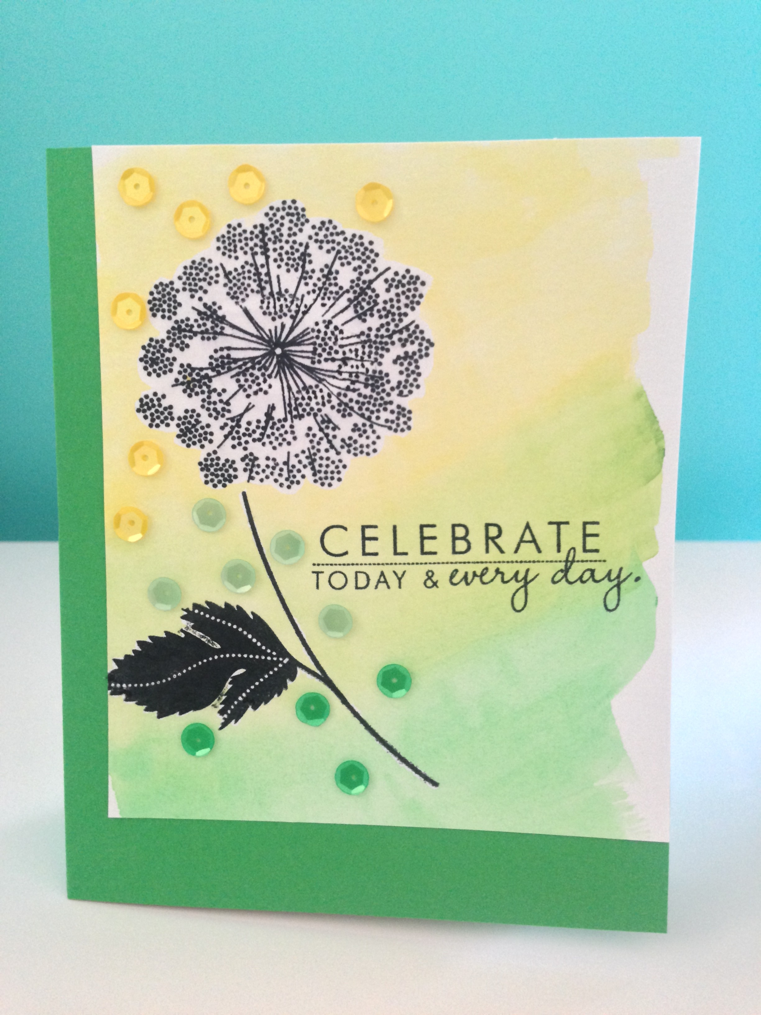 OCC: Watercolors for Card Makers Day 2