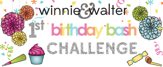 Winnie & Walter Birthday Bash Mood Board Challenge