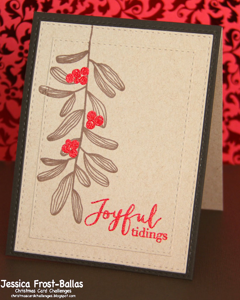 christmas card challenges #13 www.allthesparkle.com