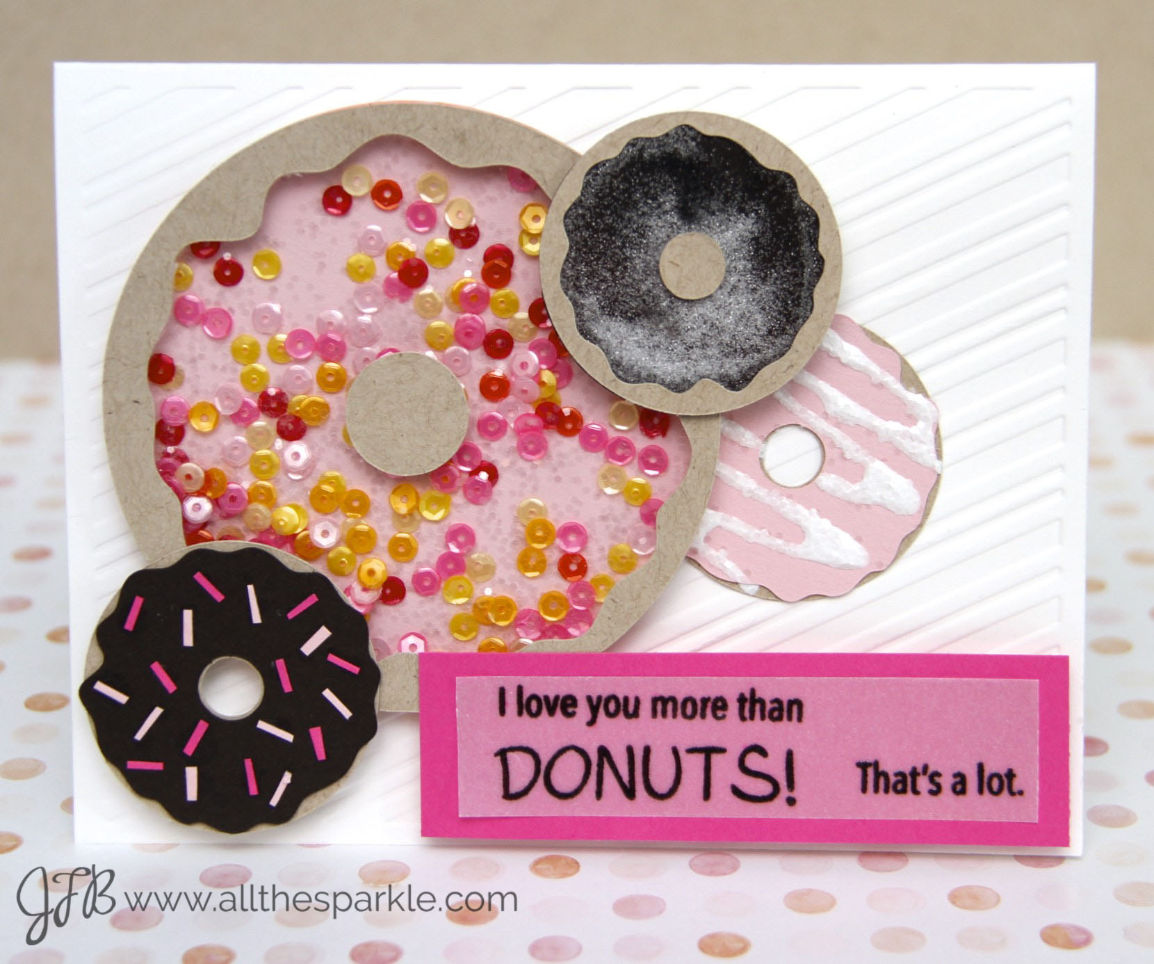 Curtain Call Inspiration Challenge: Donut Delight