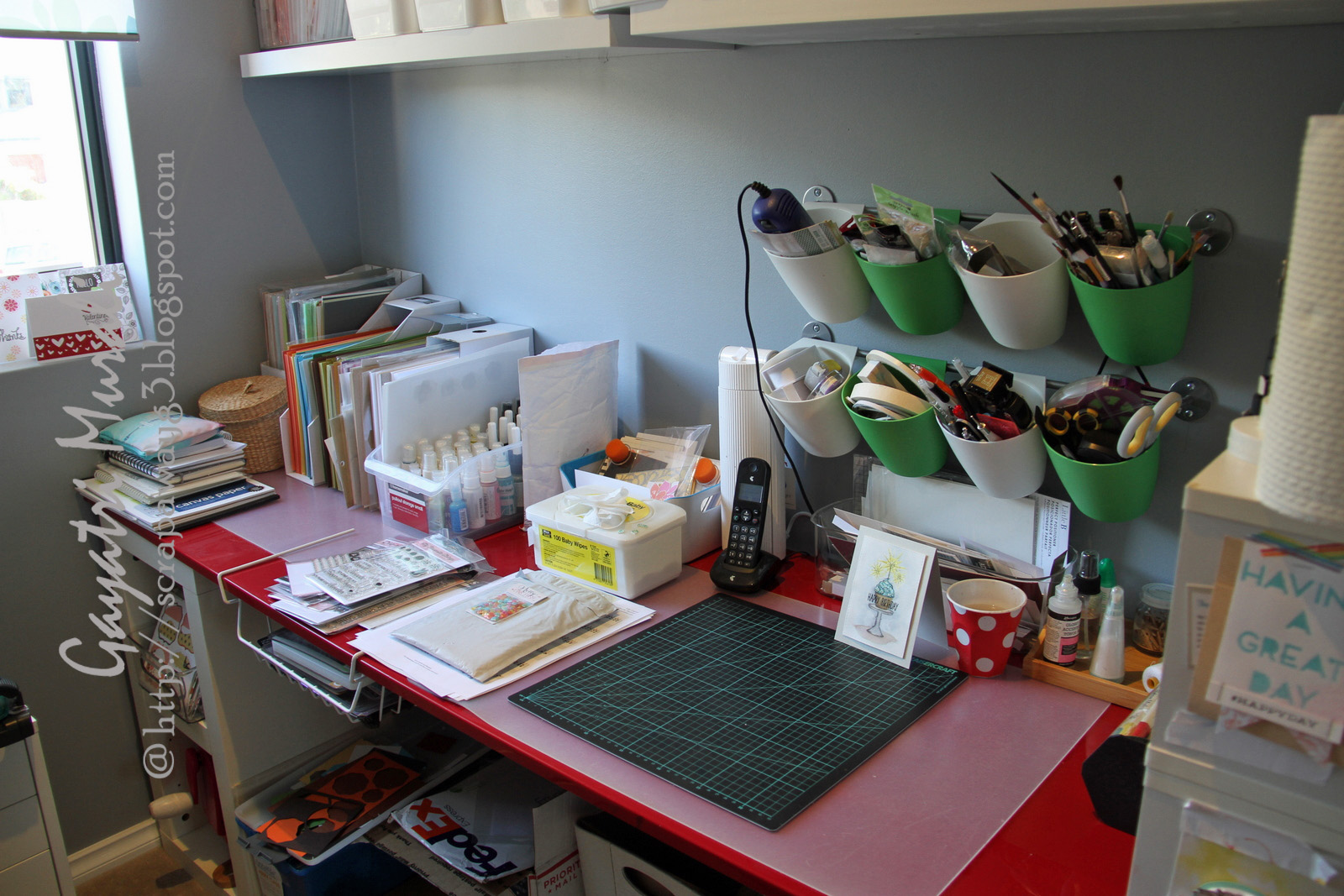 Craft Storage Ideas: Gayatri Murali's Studio