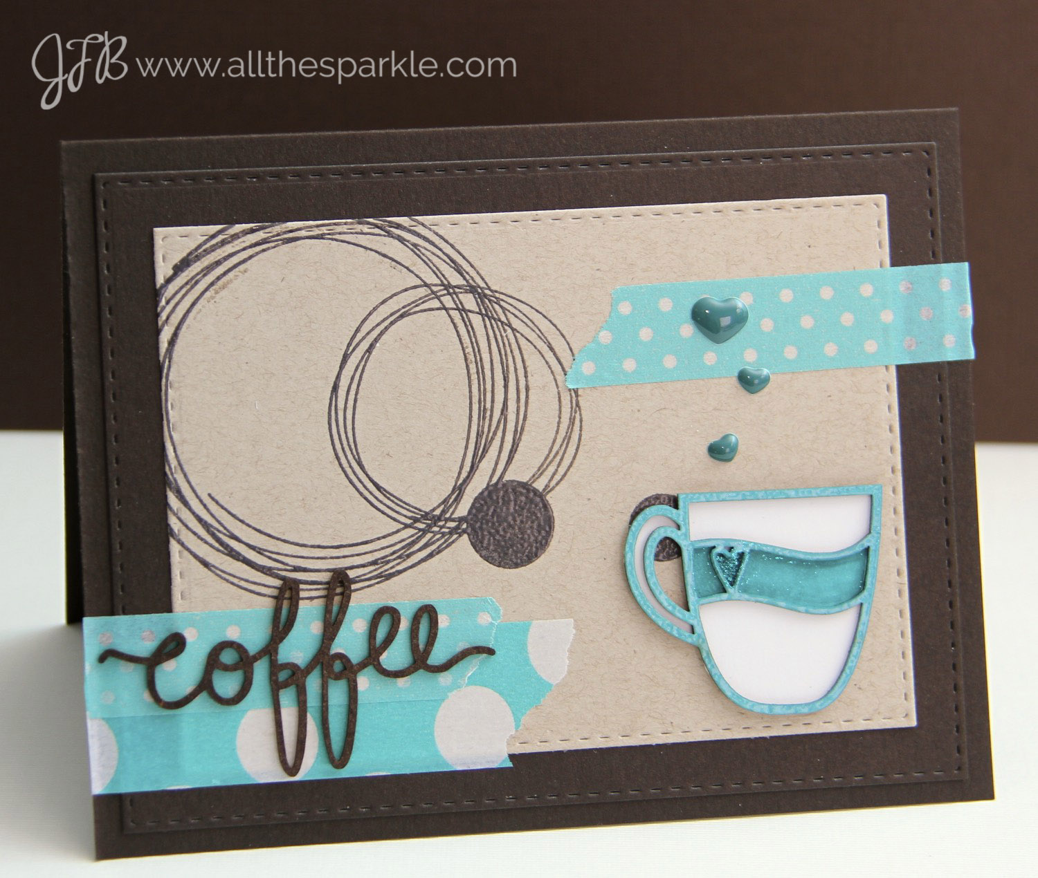 Spring Coffee Lovers Blog Hop (day 7) and a GIVEAWAY!