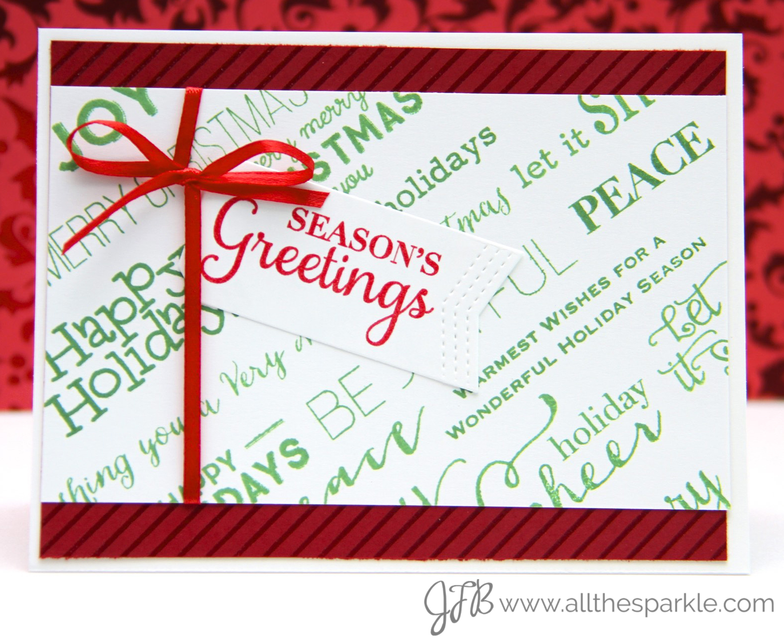 christmas card challenges www.allthesparkle.com