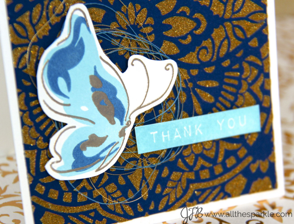 www.allthesparkle.com Altenew Painted Butterflies Hero Arts Glorious Petal