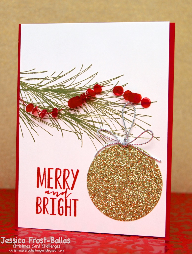 www.allthesparkle.com Christmas Card Challenges