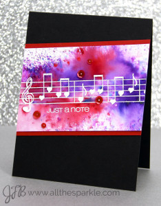 www.allthesparkle.com Color Burst Powder CAS-ual Fridays Stamps