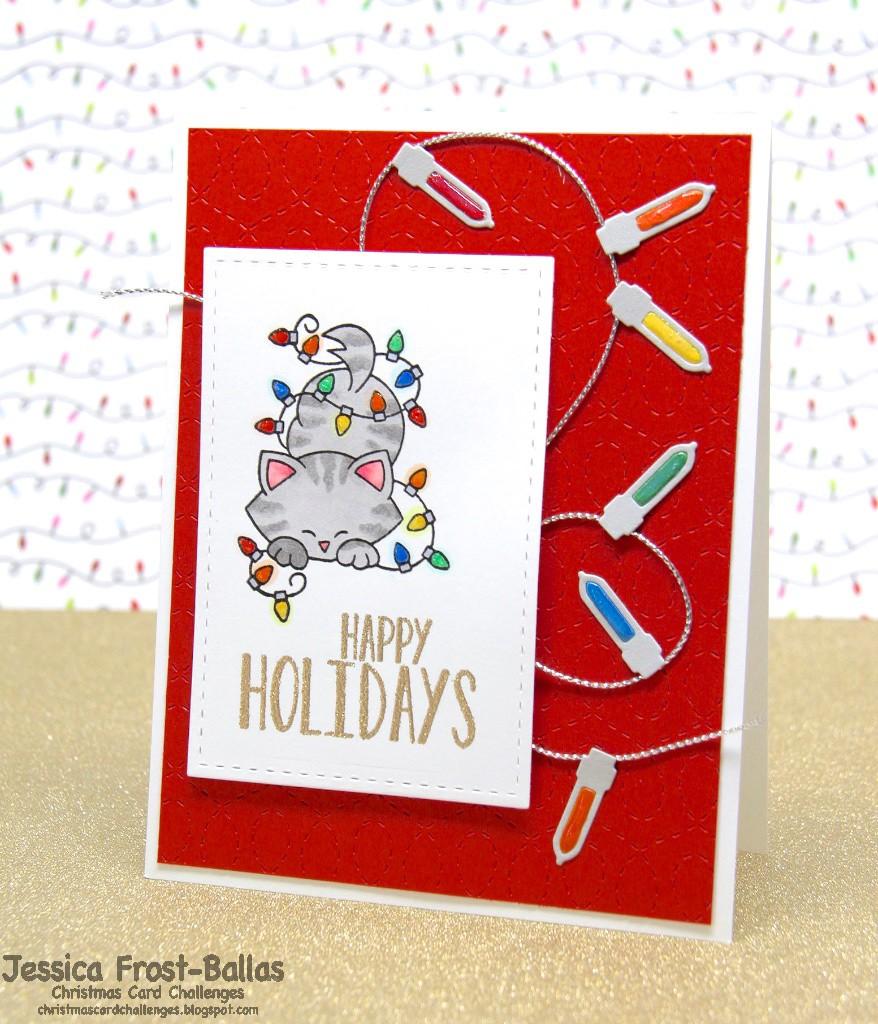 www.allthesparkle.com Newton's Nook Holiday Mischief Memory Box Lightbulbs