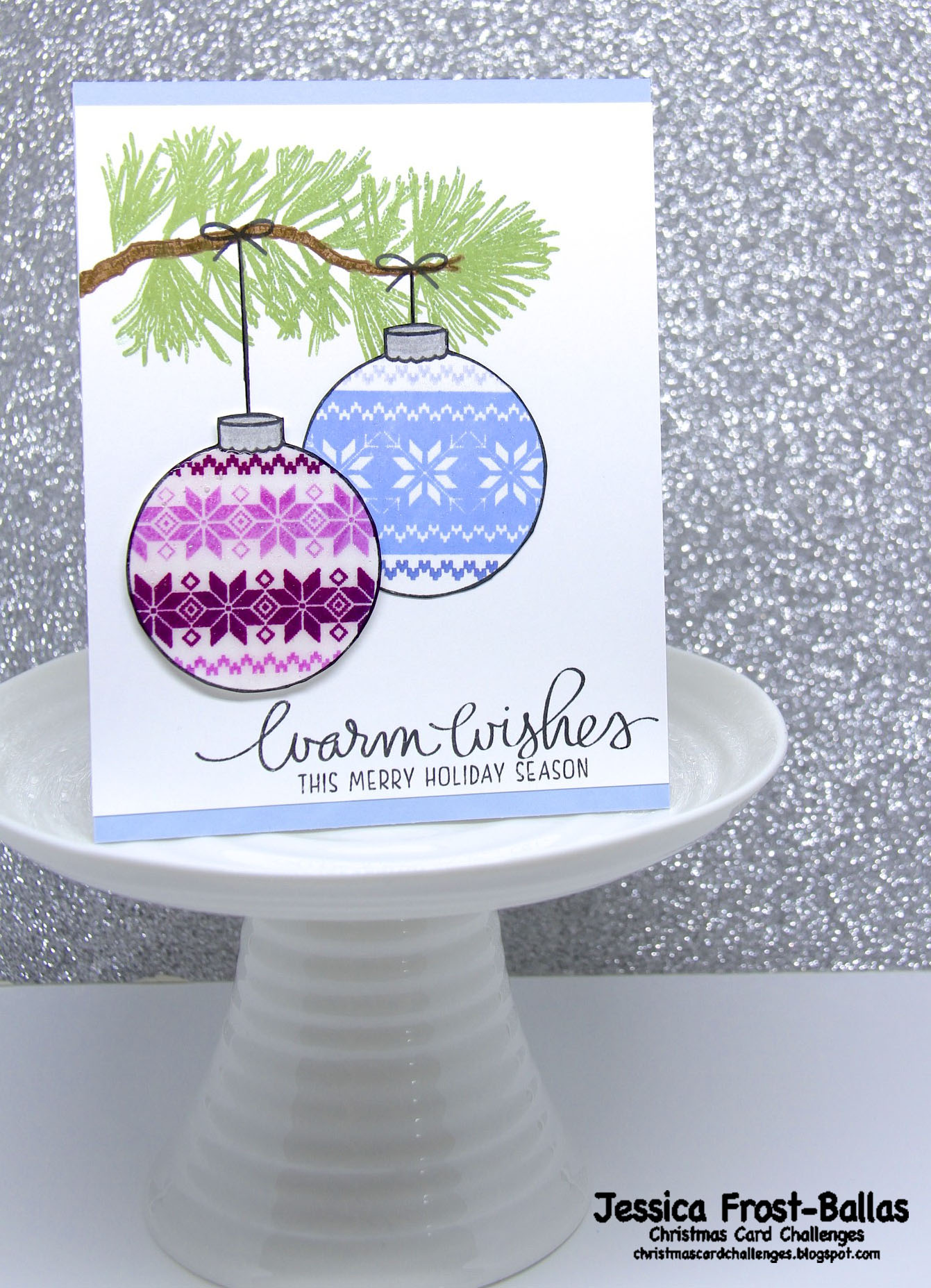 Christmas Card Challenges #52: Anything Goes
