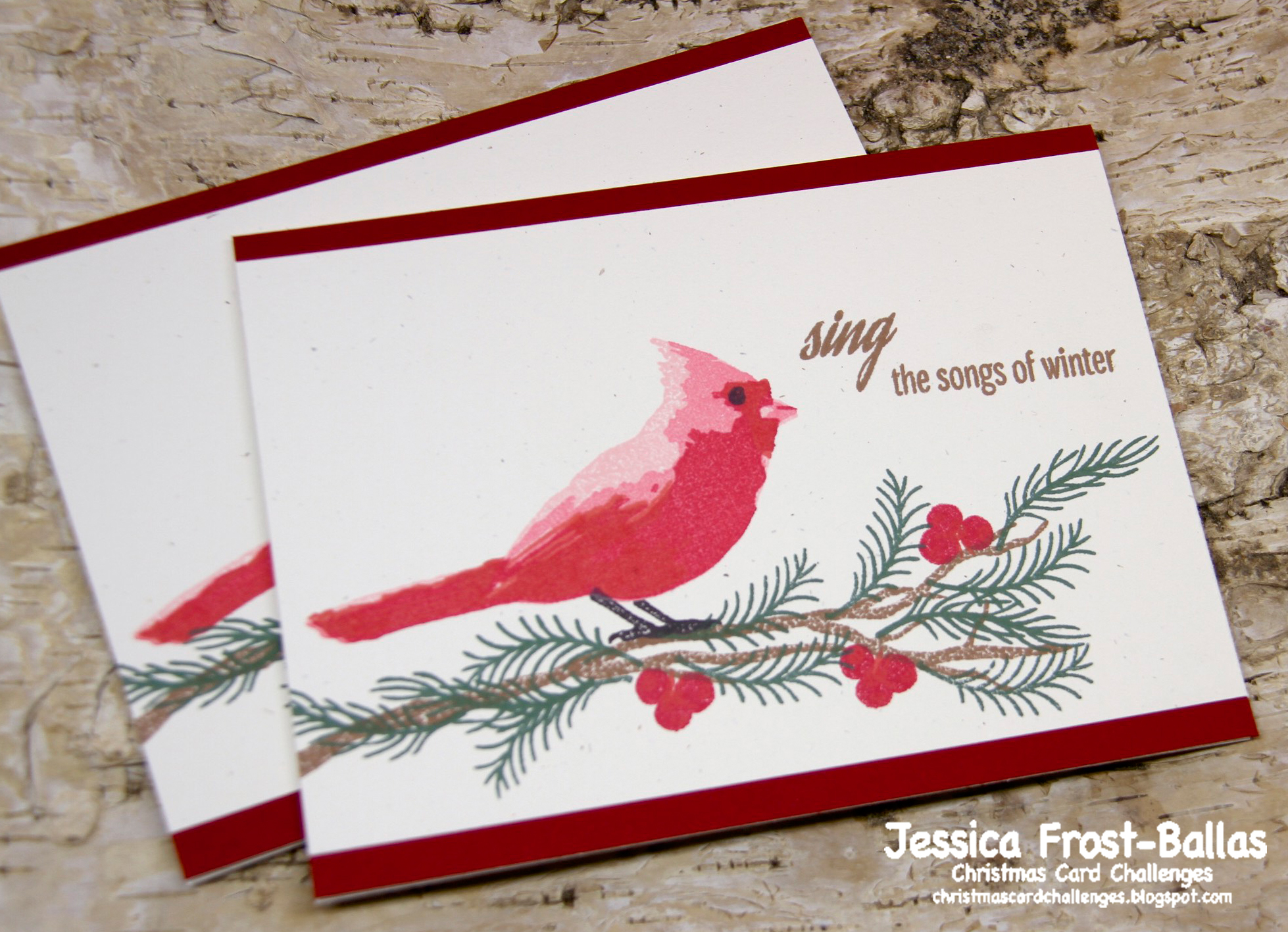 Christmas Card Challenges #17: Color Challenge