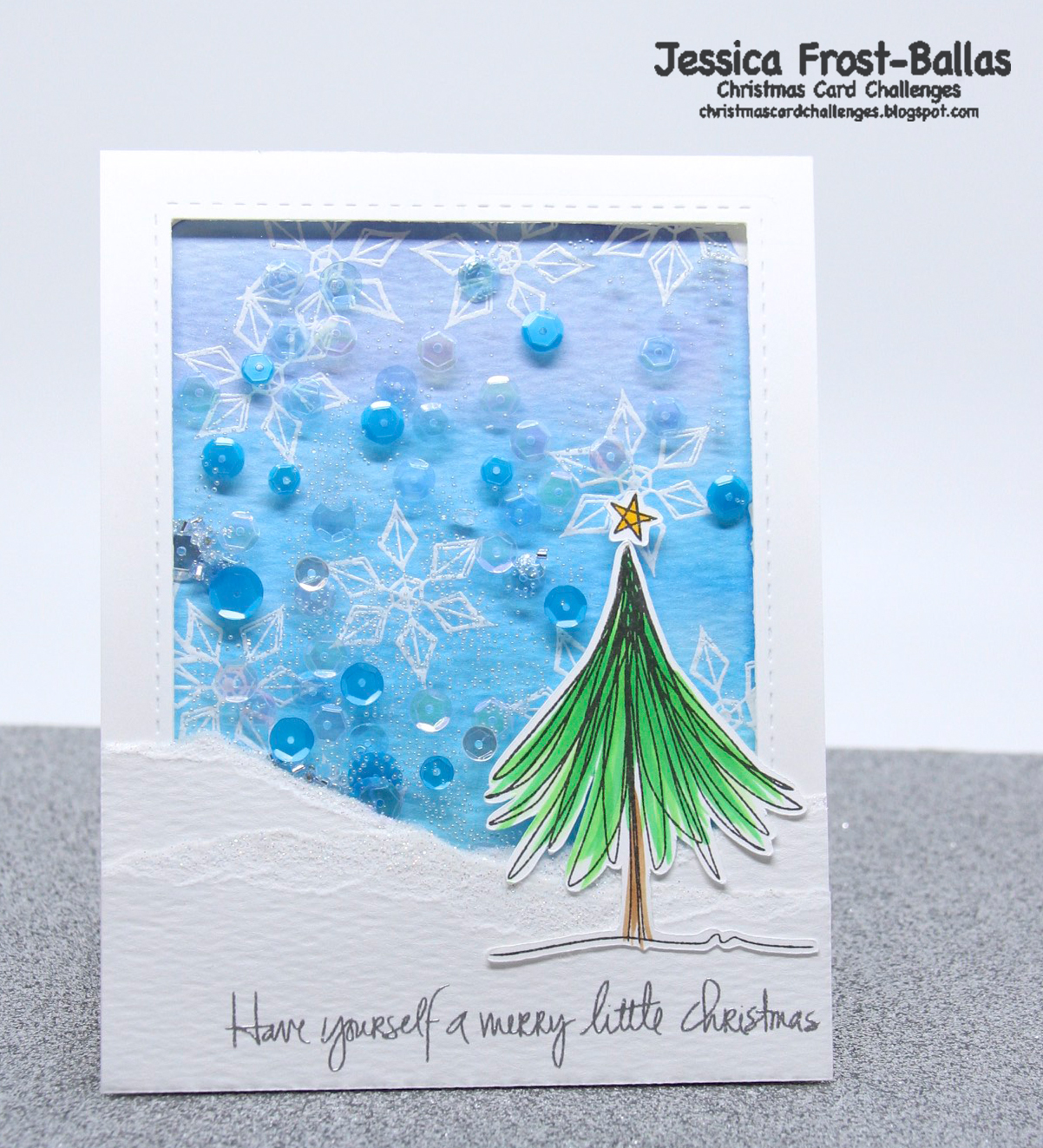 Christmas Card Challenges #21: Anything Goes