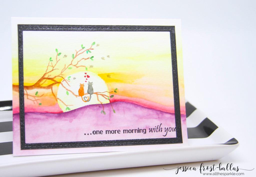 So Suzy Stamps Guest Designer - Jessica Frost-Ballas www.allthesparkle.com