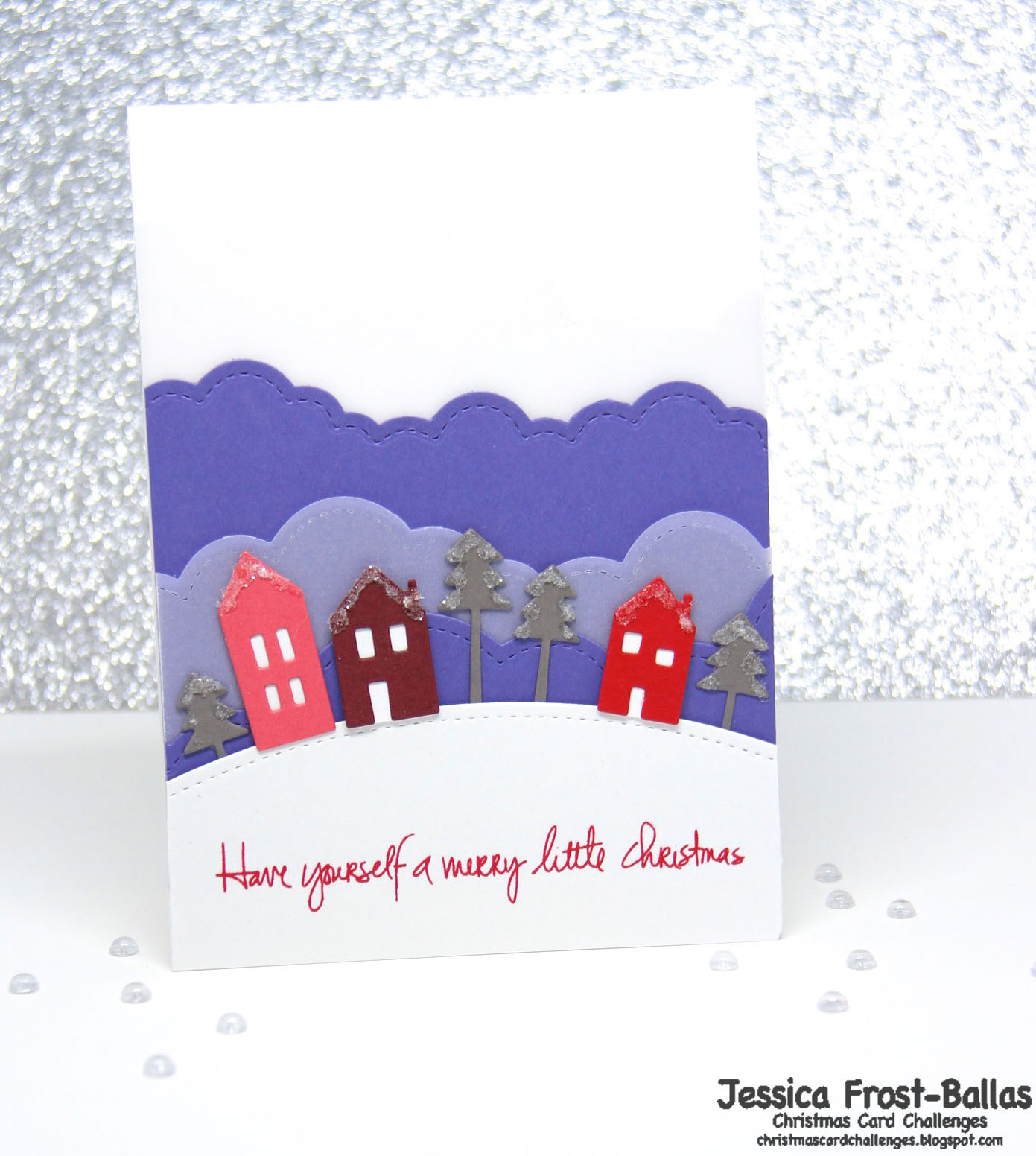 Christmas Card Challenges #26: Color Inspiration