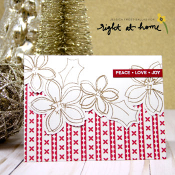 Right At Home – Bits & Pieces: Winter Holiday Ribbons