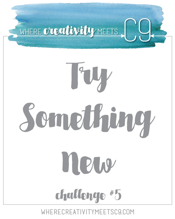 Where Creativity Meets C9 Challenge 5: Try Something New