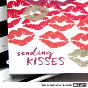 Sending Kisses by Jessica Frost-Ballas for Hero Arts
