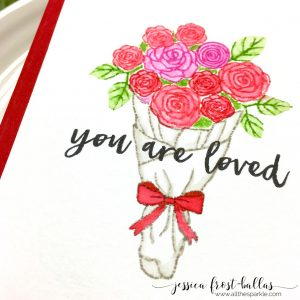 You Are Loved by Jessica Frost-Ballas for Hero Arts My Monthly Hero January 2017