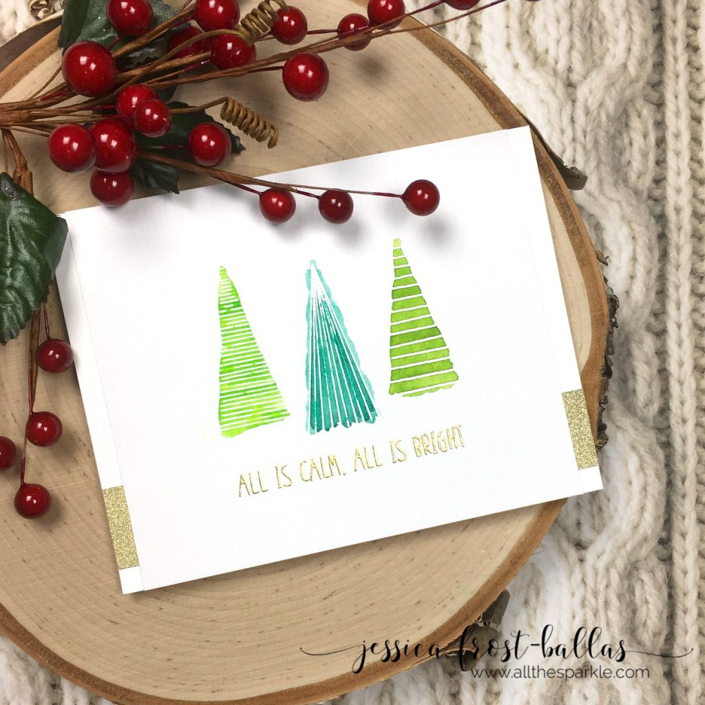 All is Calm All is Bright by Jessica Frost-Ballas for Simon Says Stamp