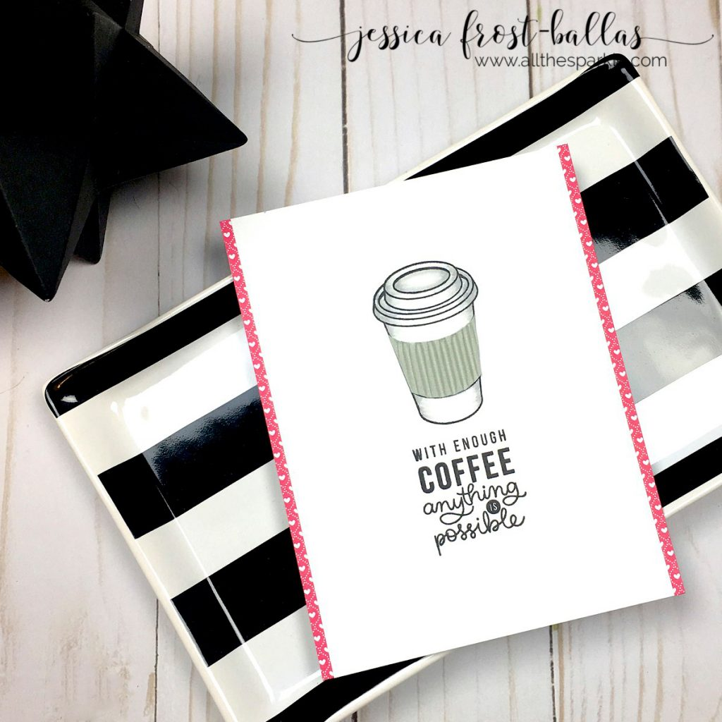 Coffee by Jessica Frost-Ballas for Simon Says Stamp