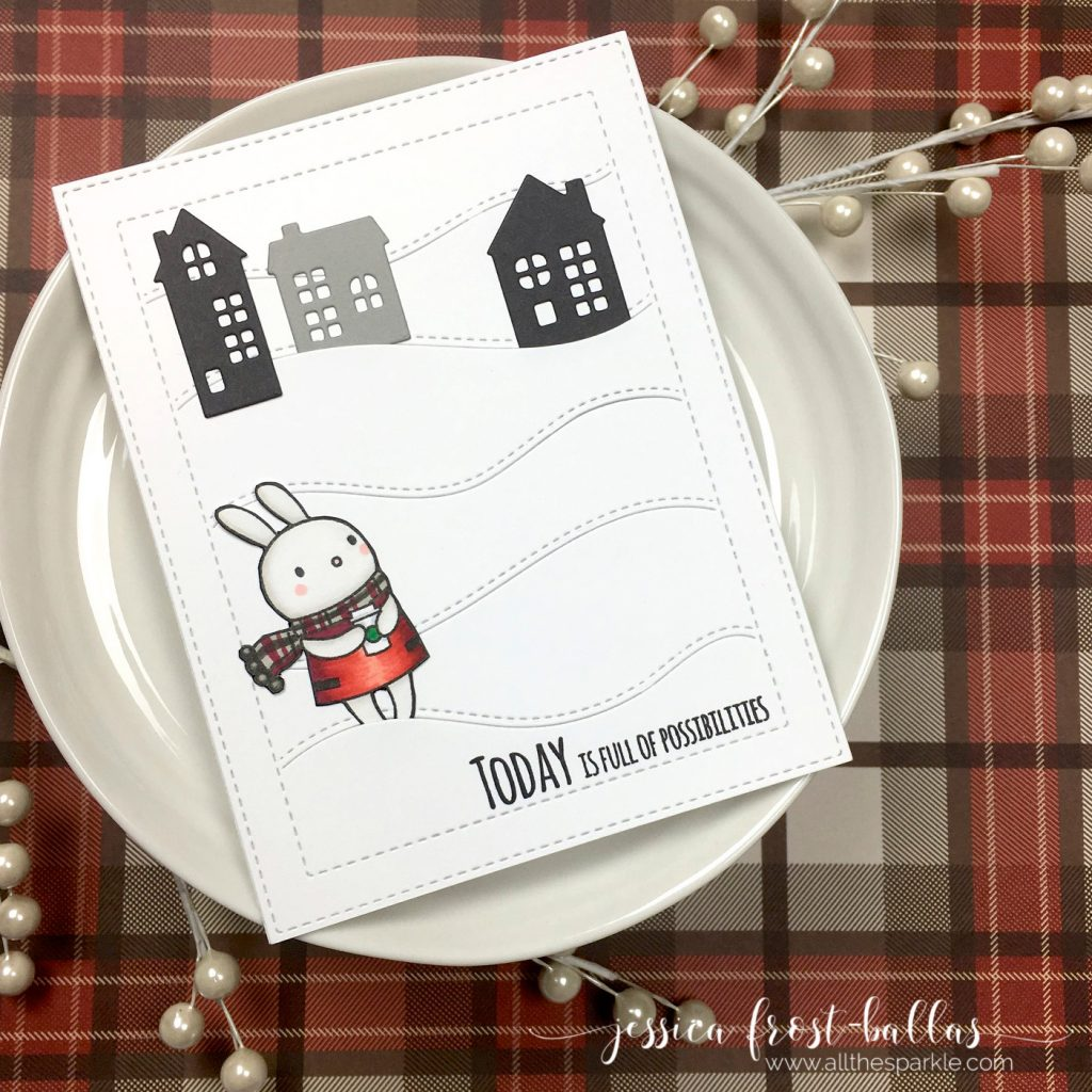 Today is Full of Possibilities by Jessica Frost-Ballas for Simon Says Stamp