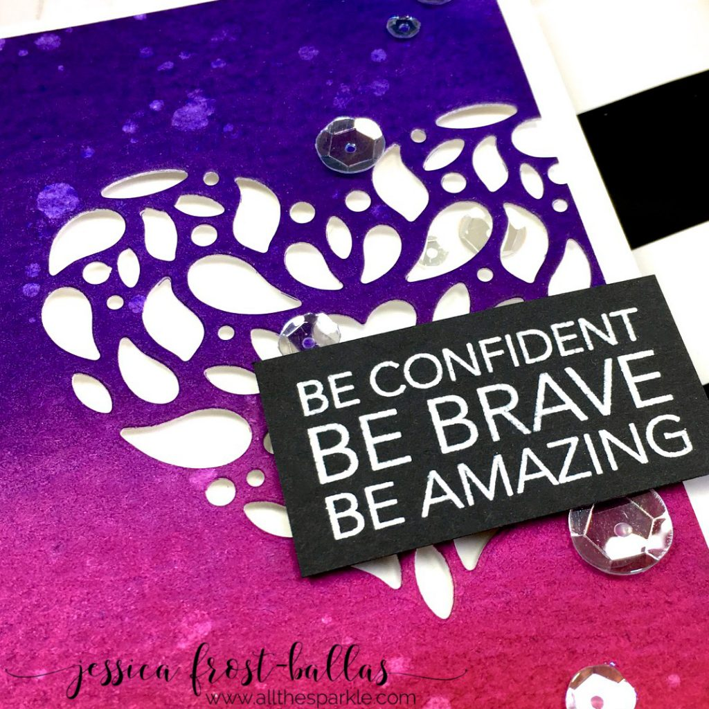 Be Amazing by Jessica Frost-Ballas for Simon Says Stamp