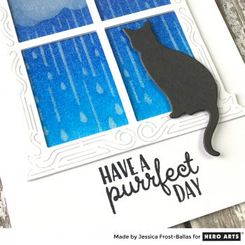 Wishing You a Purrfect Day by Jessica Frost-Ballas for Hero Arts