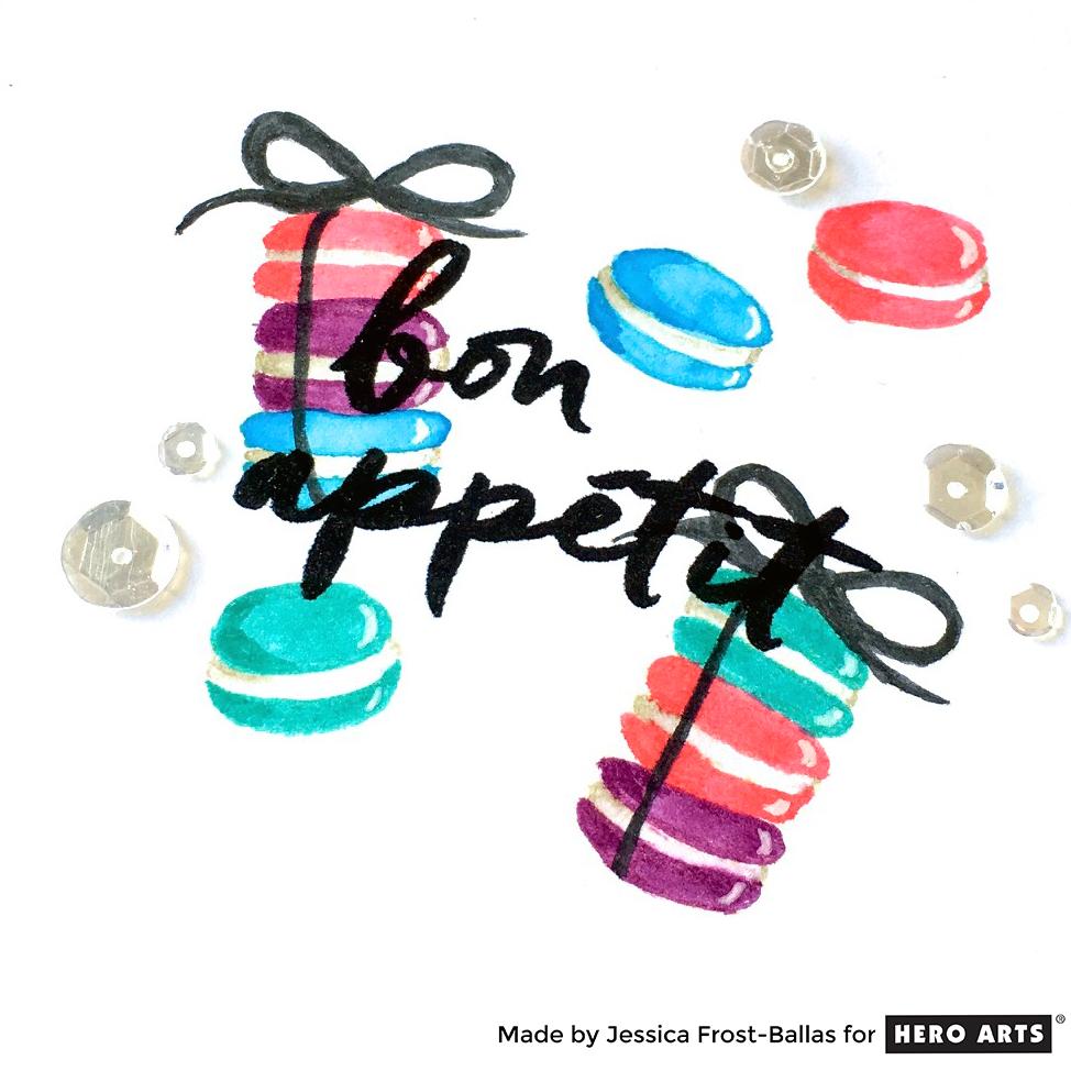 Bon Appetit by Jessica Frost-Ballas for Hero Arts