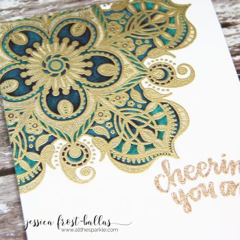 Cheering You On by Jessica Frost-Ballas for Simon Says Stamp