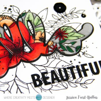 Hello Beautiful by Jessica Frost-Ballas for Where Creativity Meets C9