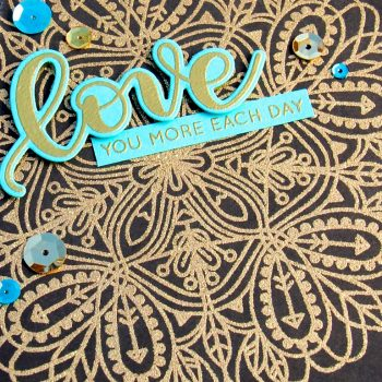 Love You More Each Day by Jessica Frost-Ballas for Simon Says Stamp
