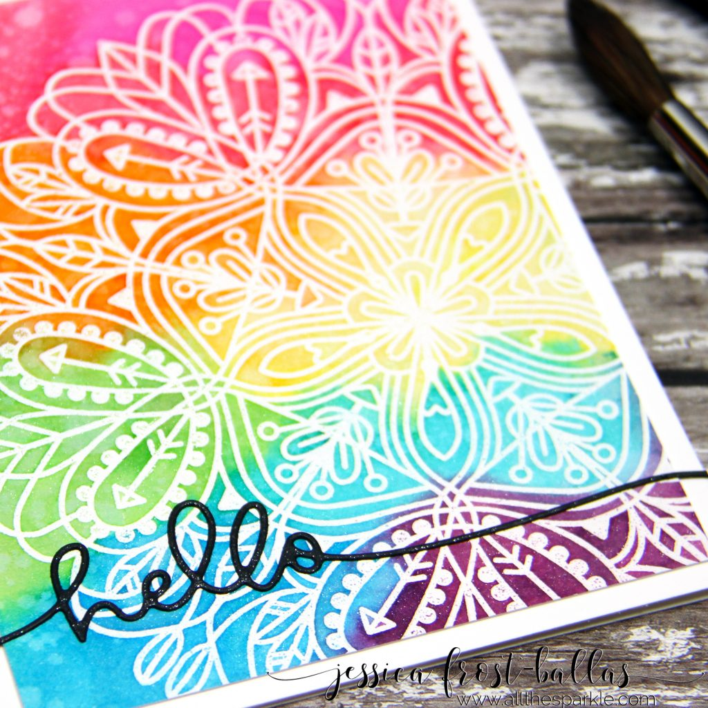 Distress Ink Watercolored Emma Background by Jessica Frost-Ballas for Simon Says Stamp