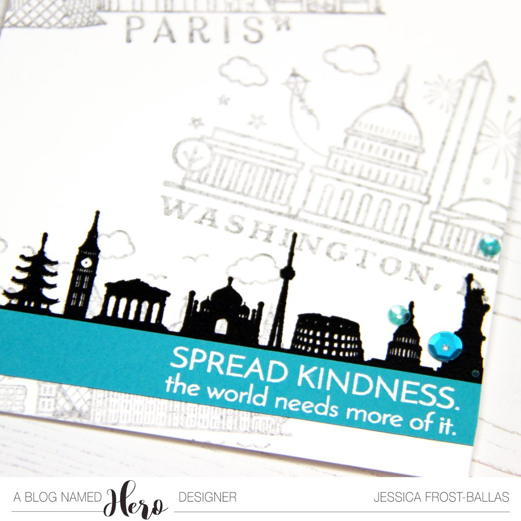 Spread Kindness by Jessica Frost-Ballas for A Blog Named Hero