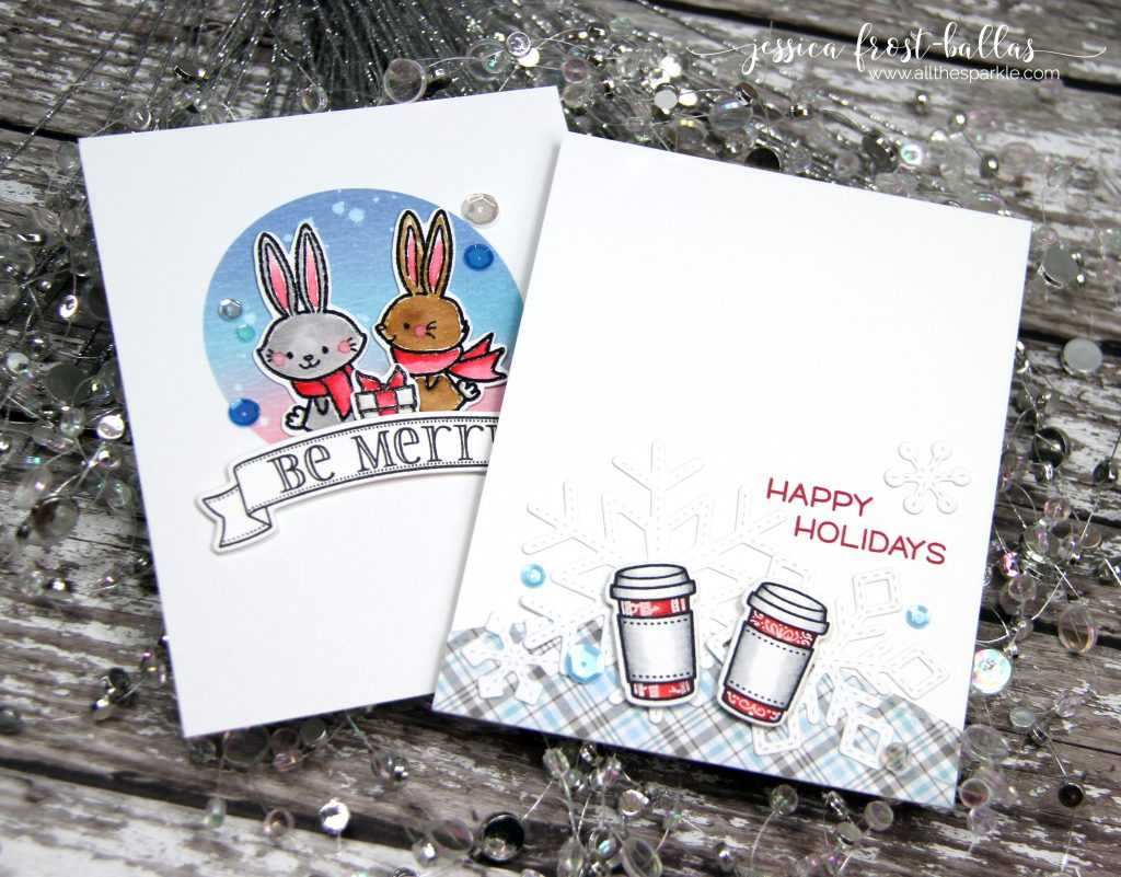 March Crafty Christmas Collaboration with Jessica Frost-Ballas and Sharna Waksmulski