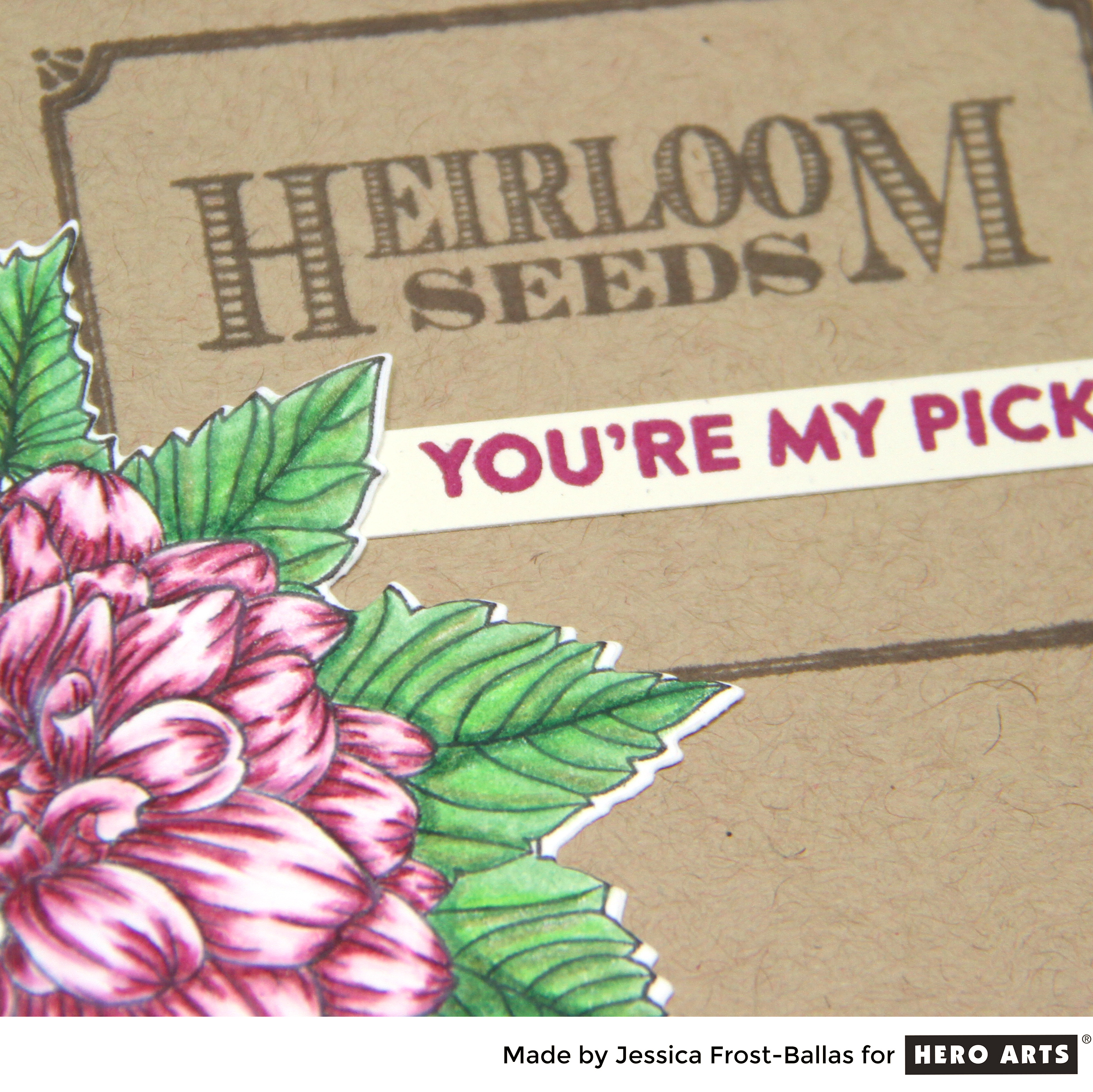 You're My Pick by Jessica Frost-Ballas for Hero Arts
