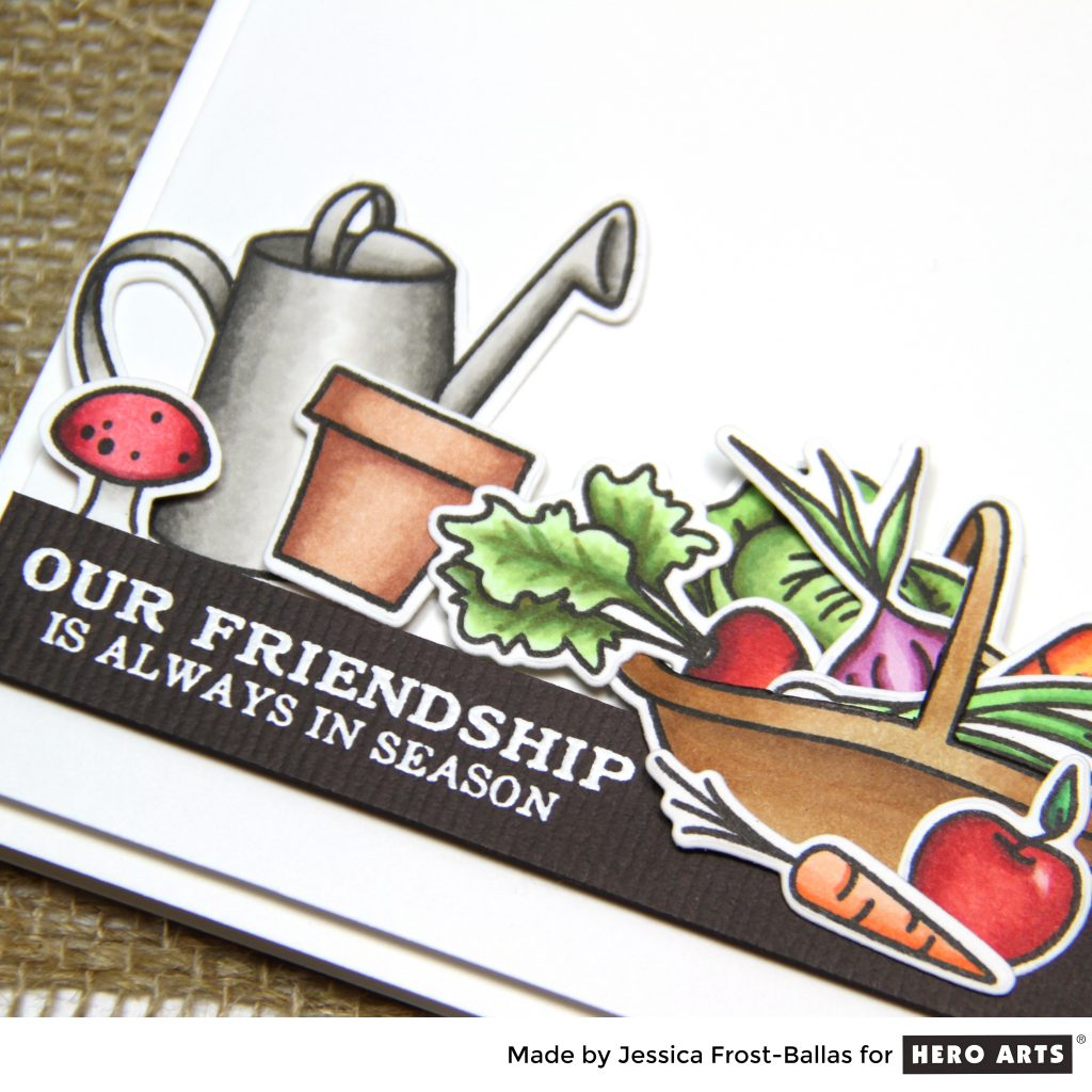 Our Friendship is Always in Season by Jessica Frost-Ballas for Hero Arts