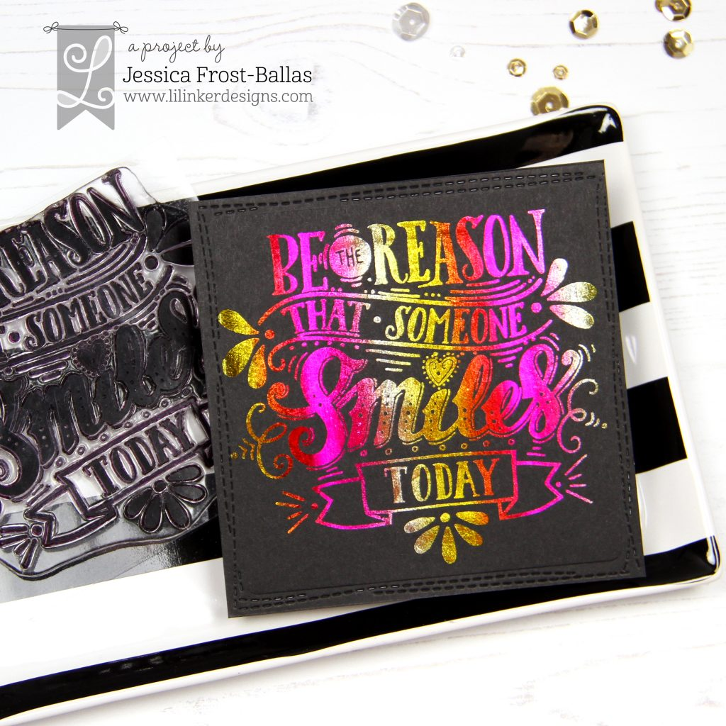 Be the Reason by Jessica Frost-Ballas for Lil' Inker Designs