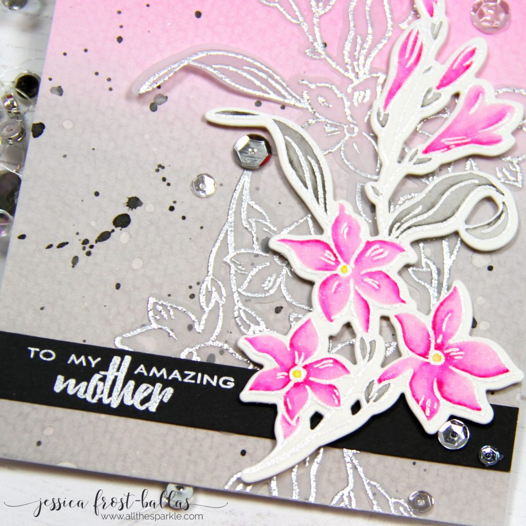To My Amazing Mother by Jessica Frost-Ballas for Altenew
