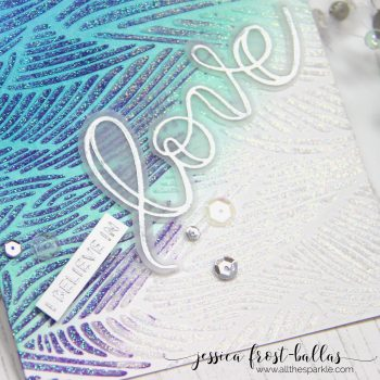 I Believe in Love by Jessica Frost-Ballas for Simon Says Stamp