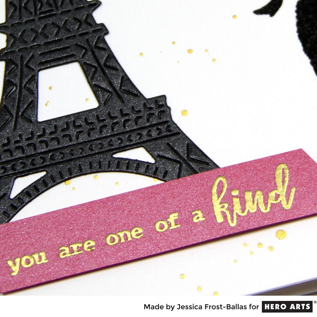 You Are One of a Kind by Jessica Frost-Ballas for Hero Arts
