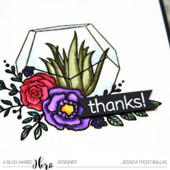 Thanks by Jessica Frost-Ballas for A Blog Named Hero