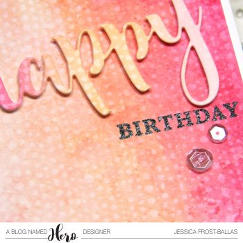 A Blog Named Hero: Water Stamping with Distress Inks
