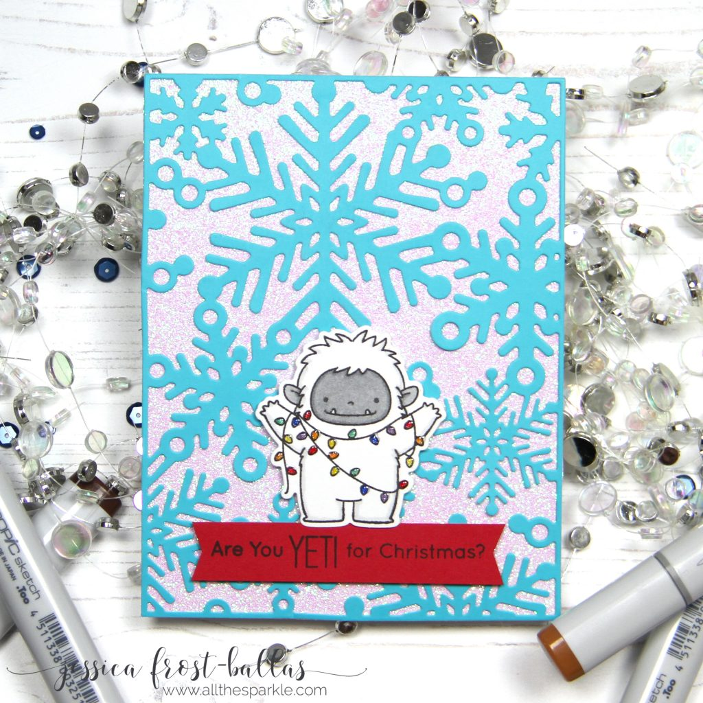 Are you Yeti for Christmas by Jessica Frost-Ballas