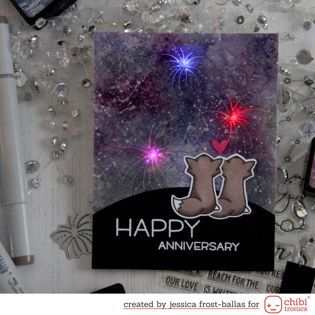 Happy Anniversary by Jessica Frost-Ballas for Chibitronics