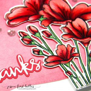 Thanks by Jessica Frost-Ballas for Simon Says Stamp