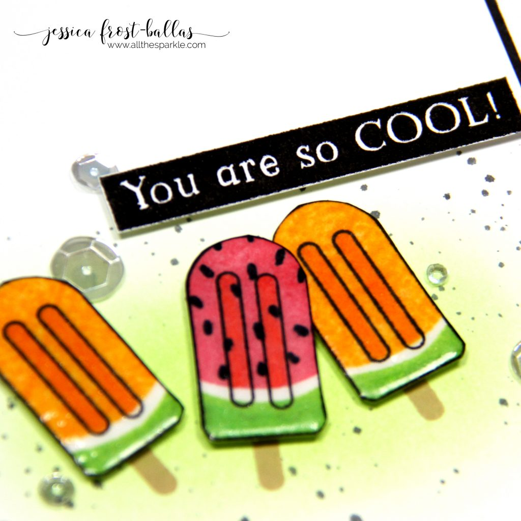 You're So Cool by Jessica Frost-Ballas for Simon Says Stamp