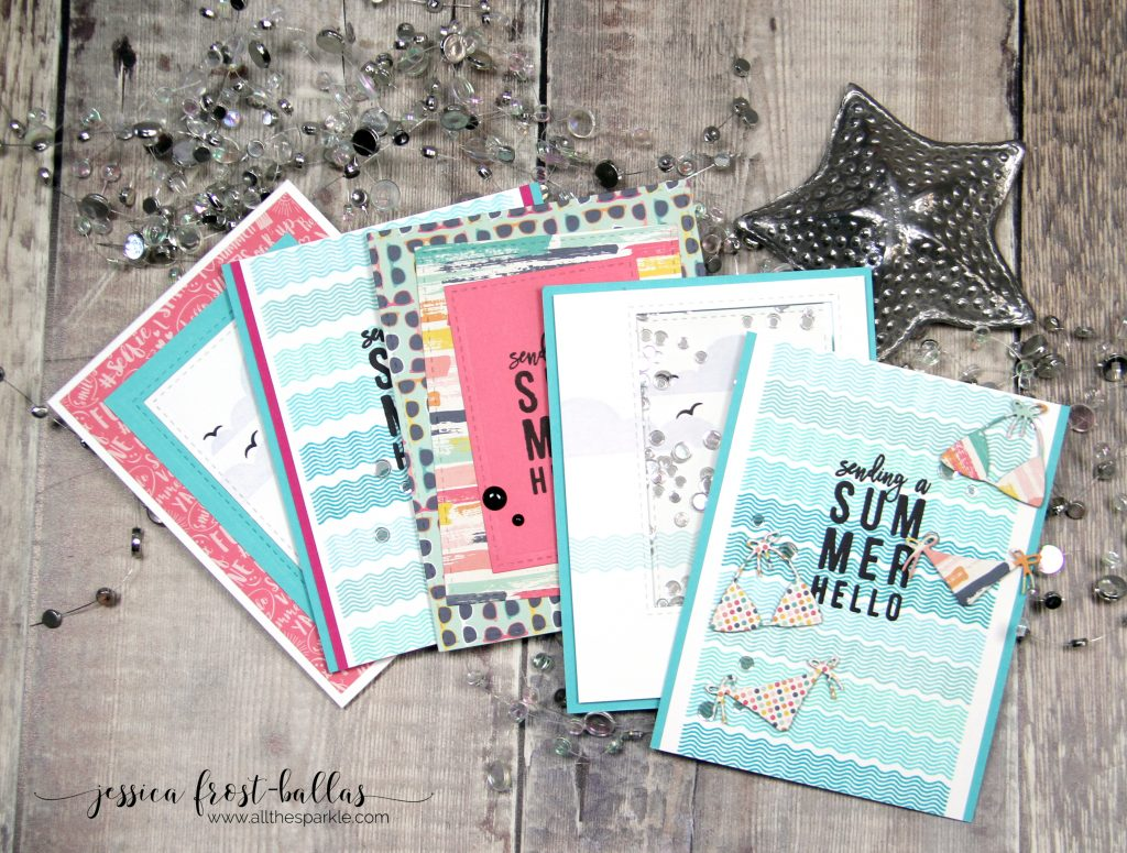 July 2017 Card Kit by Jessica Frost-Ballas for Simon Says Stamp