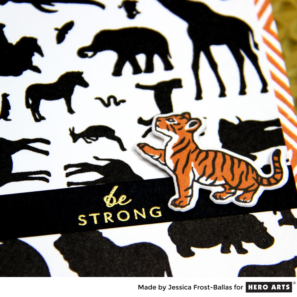 Be Strong by Jessica Frost-Ballas for Hero Arts