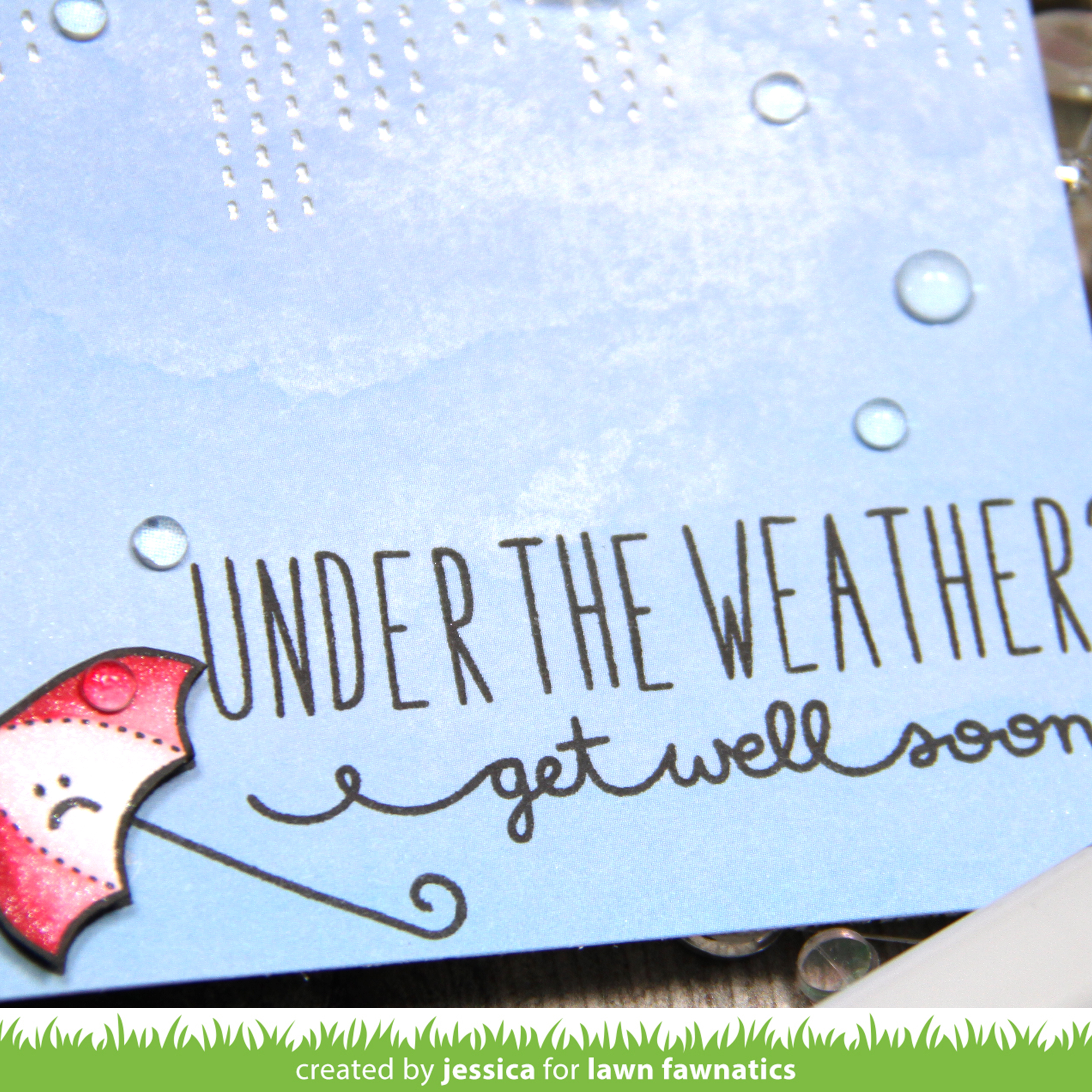 Under the Weather by Jessica Frost-Ballas for Lawn Fawnatics