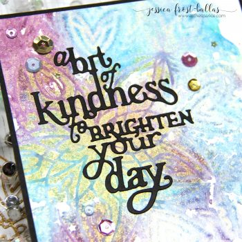 Stenciled Kindness (+VIDEO)