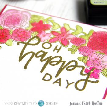 Oh Happy Day by Jessica Frost-Ballas for Where Creativity Meets C9