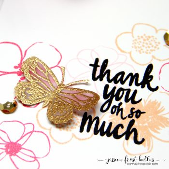 Thank You Oh So Much by Jessica Frost-Ballas for Flora and Fauna